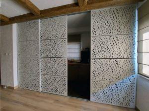 panel przedzielający przestrzeń
